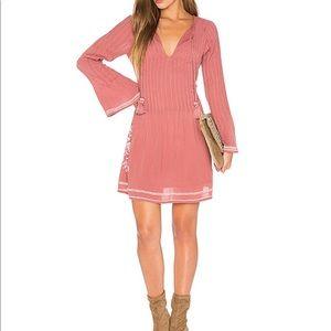 Tularosa Audrey dress is rose size xs